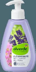 Жидкое мыло Alverde NATURKOSMETIK мальва и лаванда, 300 мл