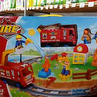 Игровой набор трек железная дорога Пожарники Киев