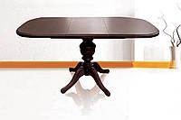 Стол Эмиль обеденный раскладной деревянный 105(+38)*75 орех