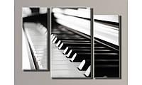 "Модульная картина на холсте ""Пианино"""