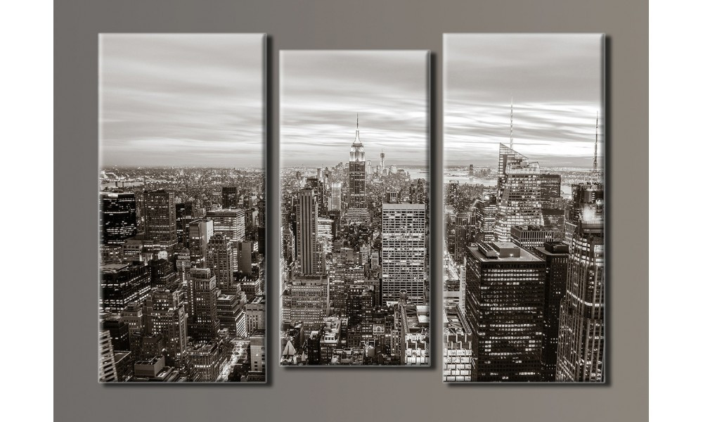 "Модульная картина на холсте ""New York City"""