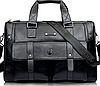 Мужская сумка из натуральной кожи BailiLaoren Черный