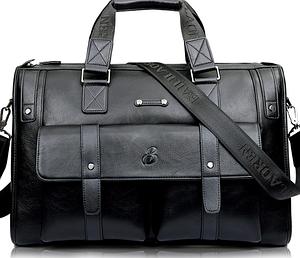 Мужская сумка кожаная BailiLaoren Черная