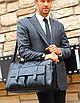 Мужская сумка кожаная BailiLaoren Черная, фото 2