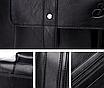 Мужская сумка кожаная BailiLaoren Черная, фото 4
