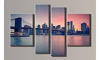 "Модульная картина на холсте ""New York City 4"""