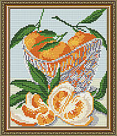 "Алмазная мозаика ""В хрустале мандарины"""