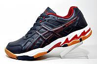 Волейбольная обувь ASICS GEL-ESSENT 2, кроссовки Dark Blue\Red\White