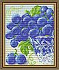 "Алмазна мозаїка ""В кришталі виноград.Диптих1"""