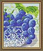 "Алмазна мозаїка ""В кришталі виноград.Диптих2"""