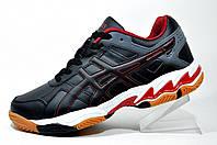 Волейбольные кроссовки в стиле ASICS GEL-ESSENT 2, мужские Black\Red\White