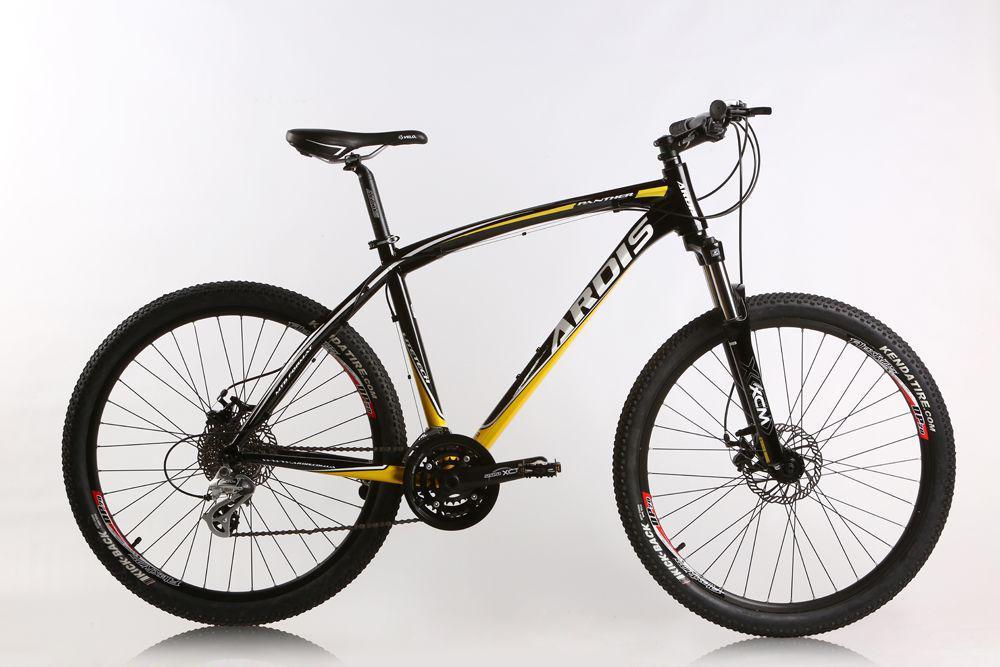 """Горный велосипед ARDIS PANTHER MTB 26"""" 19""""  Черный/Желтый"""