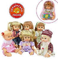 Кукла музыкальная Оксаночка (5138-5079-5141-5143), фото 1