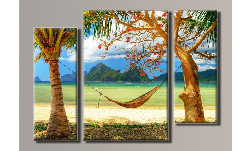 "Модульная картина на холсте ""Таиланд 4"" для интерьера"