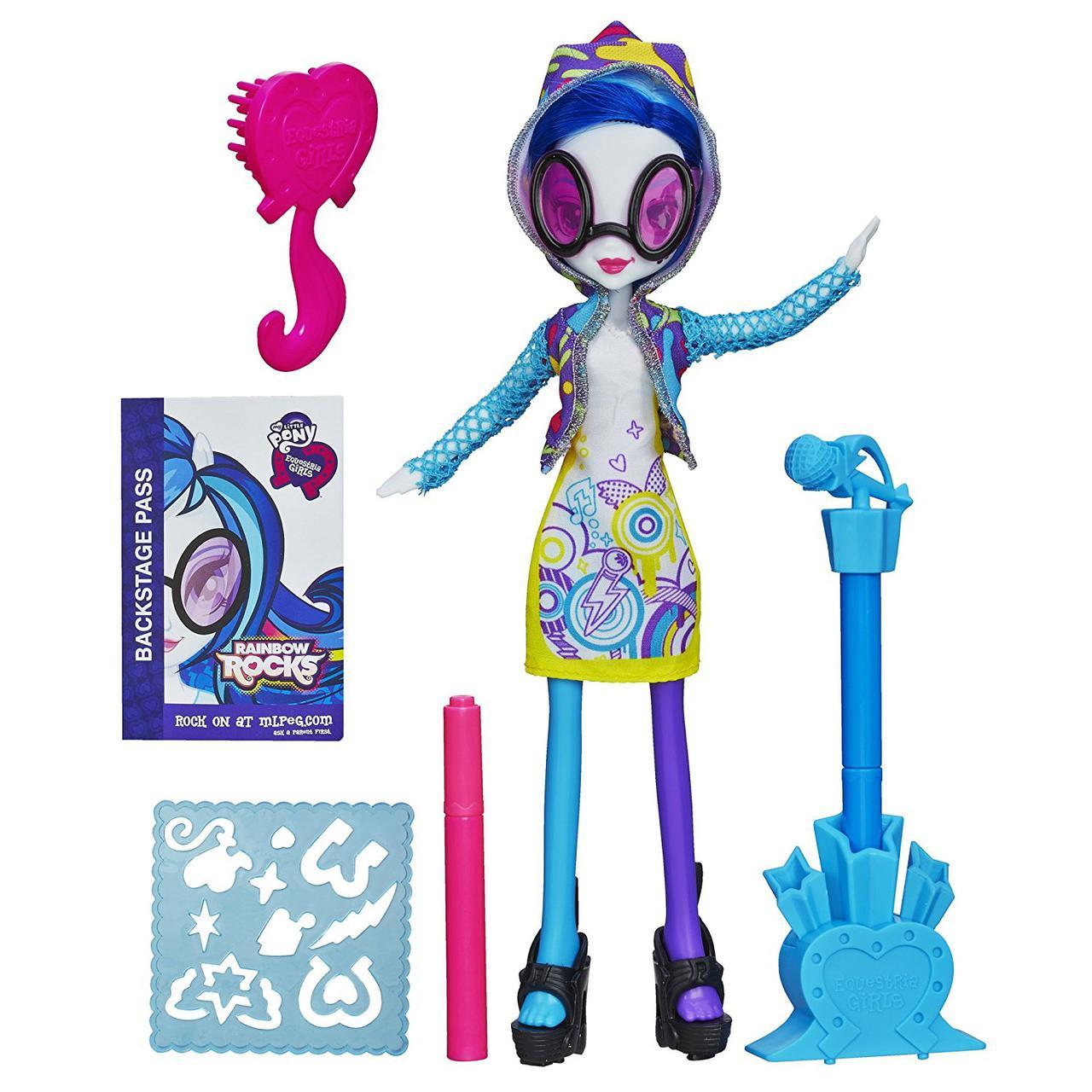 Кукла Диджей Пон 3 (Винил Скретч) Оригинал Девушки Эквестрии Май Литл пони (A8782000)