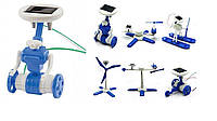 Конструктор на сонячних батареях Робот 6 в 1, фото 1