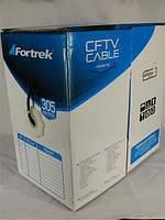Кабель витая пара UTP 4x2x0,50mm биметалл Fortrek КВП Cat. 5e 305м (бухта) для внутренней прокладки