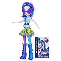 Кукла Винил Скретч Радужный Рок/ My Little Pony Equestria Girls DJ PON-3 Doll (Neon Rainbow Rocks)