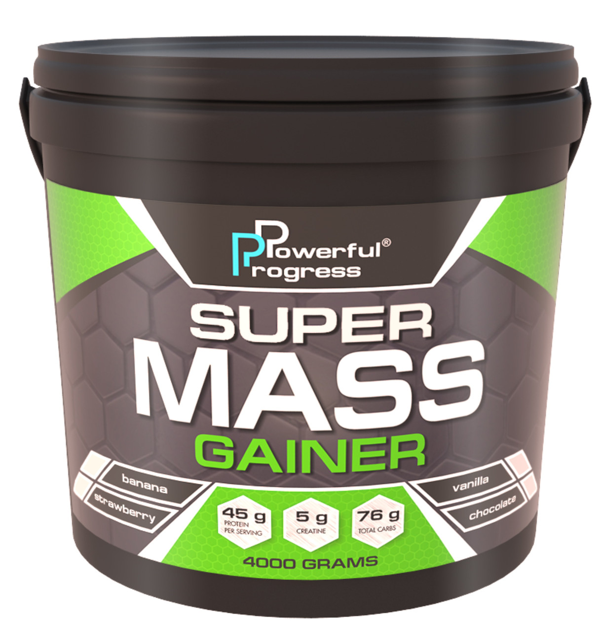 Гейнер Powerful Progress Super Mass Gainer 4 kg