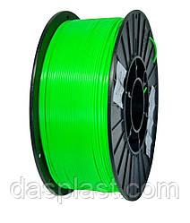 АБС пластик 1 кг для 3d принтеров и ручек, зеленый неоновый
