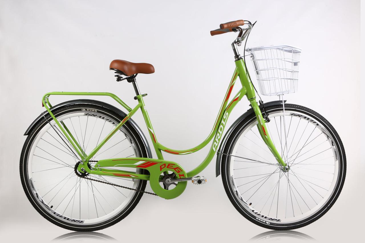 """Городской велосипед ARDIS PEGI 26"""" 17""""  Салатовый"""