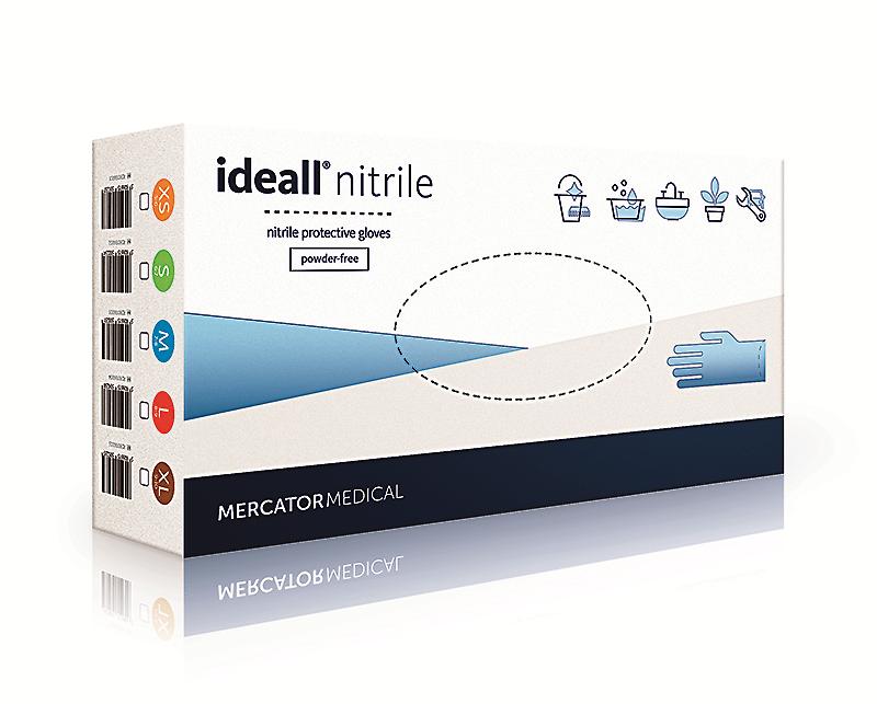 Нитриловые перчатки Ideal nitrile