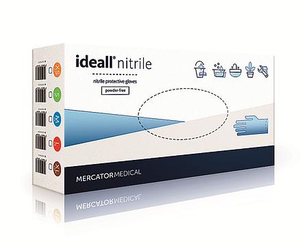 Нитриловые перчатки Ideal nitrile, фото 2