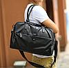 Мужская кожаная сумка mod.Moonar черная