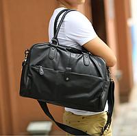 Мужская кожаная сумка mod.Moonar черная, фото 1