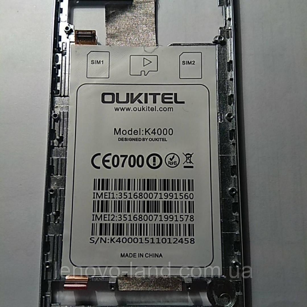 Средняя часть корпуса oukitel k4000