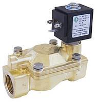 Электромагнитный (соленоидный) клапан для воды, нормально открытый, G 1/8 - G 2, (ODE, Italy)