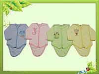 Боди для новорожденных с интерлока.