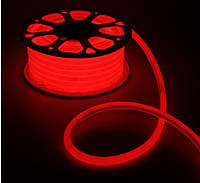 Гибкий неон флекс Красный - 100м
