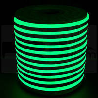 Гибкий неон флекс Зеленый - 100м