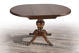 Стол «Анжелика» обеденный раскладной деревянный орех