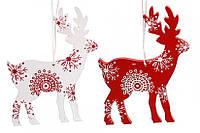 Новогоднее украшение Снежные Олени