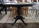 Стол «Анжелика» обеденный раскладной деревянный орех, фото 9