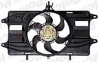 Вентилятор радiатора Fiat Doblo 1,2 8V (2000-2005) з кондицiонером