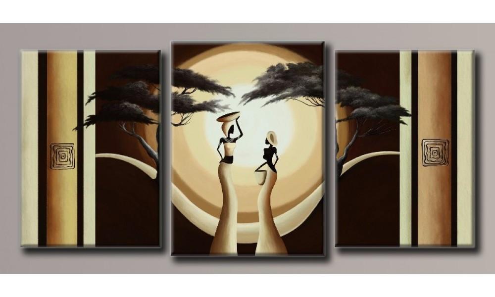 """Модульная картина на холсте """"Африка 2"""""""
