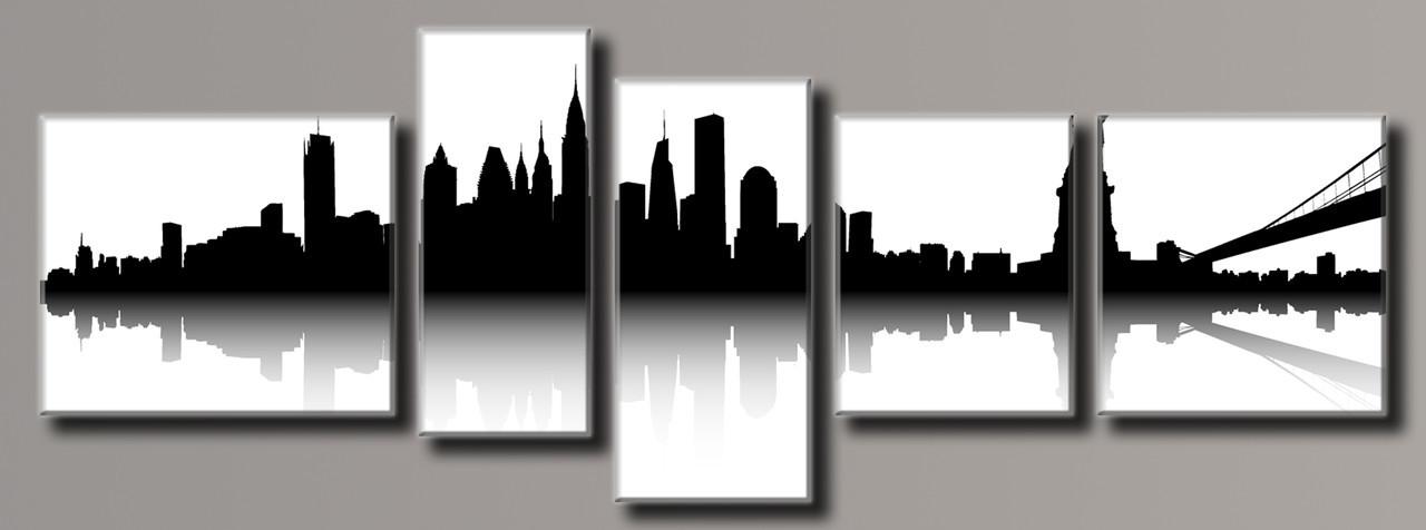"Модульная картина на холсте ""New York City 17"""
