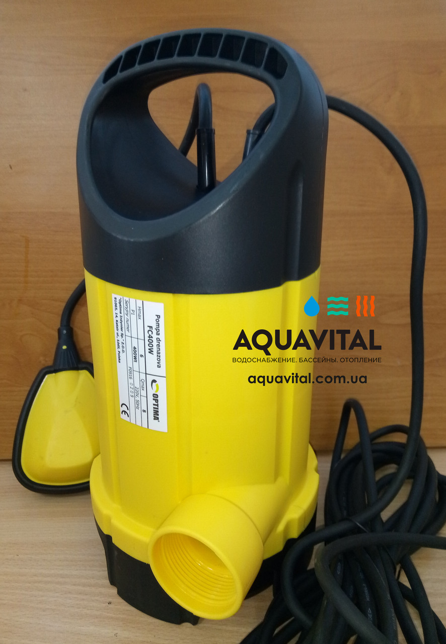 Дренажный насос Optima FC400W