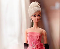 Коллекционная кукла Барби Силкстоун Гламурный наряд - Glam Gown Barbie Silkstone DGW58, фото 5