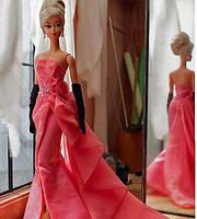 Коллекционная кукла Барби Силкстоун Гламурный наряд - Glam Gown Barbie Silkstone DGW58, фото 2