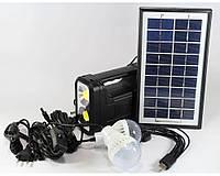 Комплект GD 8038 Cолнечеая панель, 4 лампочки
