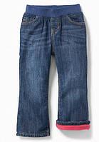 Зимние джинсы на флисовой подкладке Old Navy для девочки