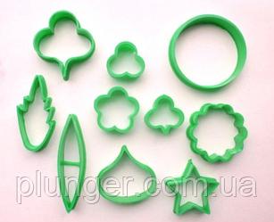 Формы для печенья и мастики пластиковые