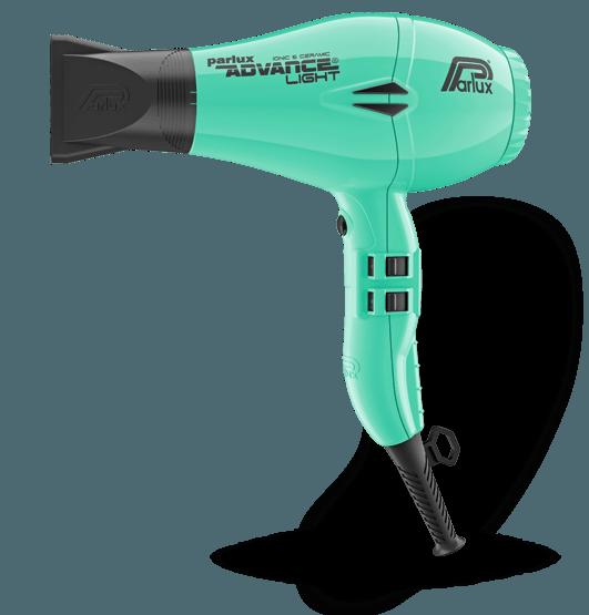 Фен для волос Parlux Advance Light Ionic, PADV-azure, с ионизацией, 2200 Вт