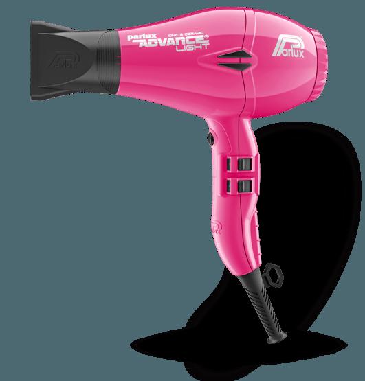 Фен для волос Parlux Advance Light Ionic, PADV-fucsia, с ионизацией, 2200 Вт