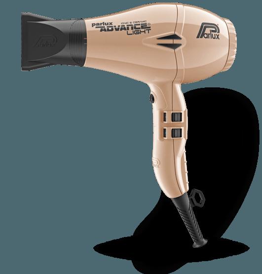 Фен для волос Parlux Advance Light Ionic, PADV-gold, с ионизацией, 2200 Вт