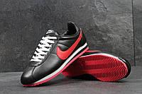 Кроссовки Nike Cortez  , чёрные с красным